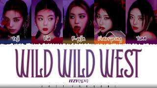 ITZY (있지) – 'WILD WILD WEST' Lyrics [Color Coded_Han_Rom_Eng]