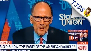 DNC Chair Can't Say What Democrats Stand For