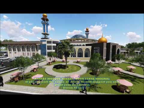 PROPOSED NASFAT MOSQUE, ASEESE, OGUN STATE, NIGERIA