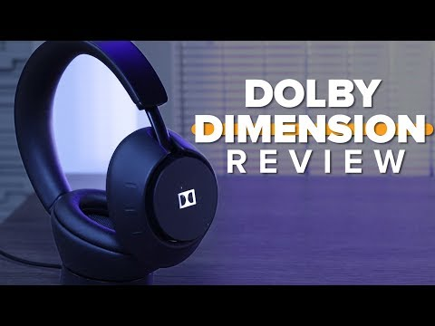 Dolby Dimension headphones review