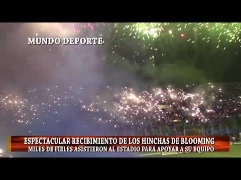 """""""Recibimiento Clasico Blooming 3 vs Oriente 1"""" Barra: Los Chiflados • Club: Blooming"""