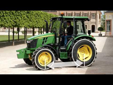 John Deere Traktor 5067E 68hk - film på YouTube