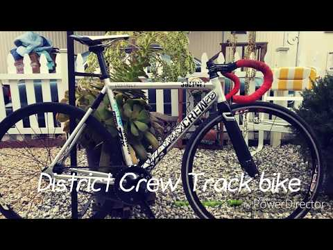 2017 Crew Bikes Co. District Track Bike check