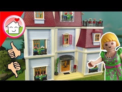 Playmobil Familie Hauser - Neues Puppenhaus 70205 Unboxing - Video für Kinder