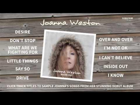 JOANNA WESTON - 'INSIDE OUT' Album Sampler