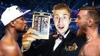 (BANNED FROM ARENA!) SNEAKING INTO THE MAYWEATHER MCGREGOR FIGHT