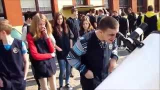 preview picture of video 'Częściowe zaćmienie Słońca Kornowac'