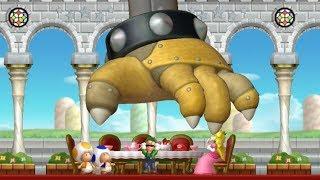 New Super Luigi U - Full Game Walkthrough (2 Player)
