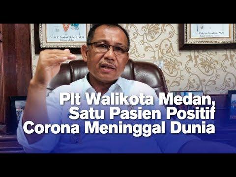 Plt Walikota Medan, Satu Pasien Positif Corona Meninggal Dunia