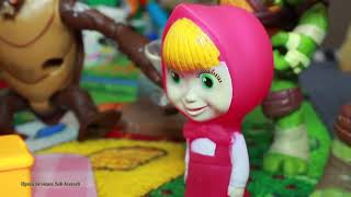 Video masha and the bear IN RUSSIAN   cartoon bad baby   masha and the bear new episodes 2017