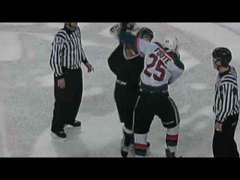 Callan Foote vs. Dylan Plouffe