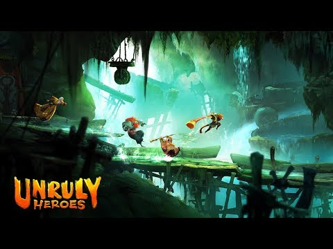 Unruly Heroes - New Gameplay Trailer 2018 [XboxOne   Nintendo Switch  PS4   PC] thumbnail