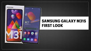 Samsung Galaxy M31s First Look: Features, specifications and price in India  IMAGES, GIF, ANIMATED GIF, WALLPAPER, STICKER FOR WHATSAPP & FACEBOOK