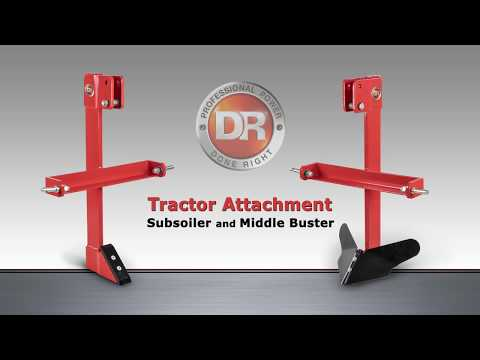 Product Video, DR Tractor Sub Soiler/Middle Buster Combo