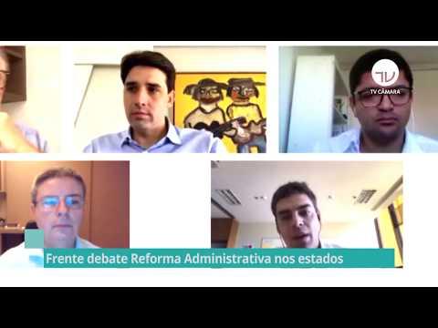 Frente debate reforma administrativa nos estados e municípios - 01/07/20