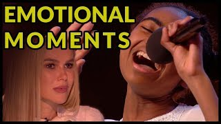 "Top 5 ""WHEN JUDGES START TO CRY* and Get EMOTIONAL MOMENTS ON BRITAIN"