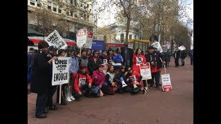 """""""Choose Healthcare Or Wages"""" Marriott Bosses Tell SF Unite Here Local 2 Hotel Workers"""