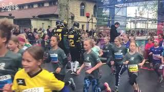小さなアスリートたちが駆け抜ける!ベルン子どもマラソン2019【スイス情報.com】