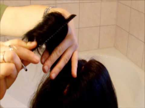 Haare ausdünnen so machen Sie es zuhause