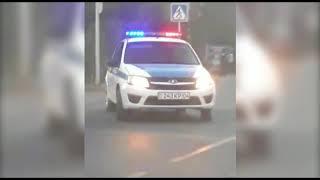 водитель под действием наркотиков накинулся на полицейских с ножом в Актобе