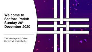 Online Worship: Sunday 20th December