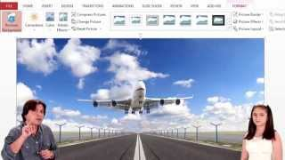 How To Move Pics With Background Change Using 3D PowerPoint Trix
