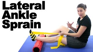 Lateral Sprained Ankle Stretches & Exercises - Ask Doctor Jo