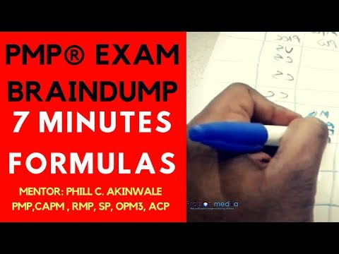 PMBOK Guide Sixth: How to Do Your PMP Exam Brain-Dump Like a ...