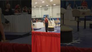 Thomas gymnastics level 5 Christian Rivera pummel horse