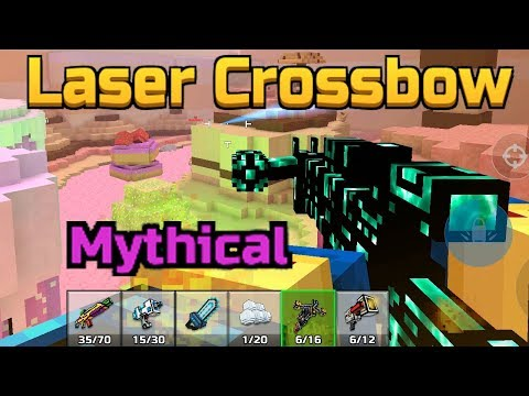Mythical Laser Crossbow - Pixel Gun 3D