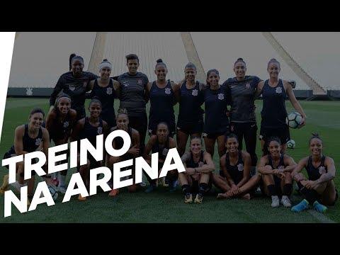 Futebol Feminino | Treino na Arena Corinthians