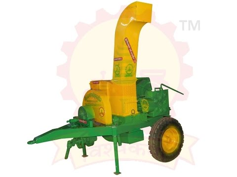 WOOD CHIPPER MACHINE (HEAVY DUTY)