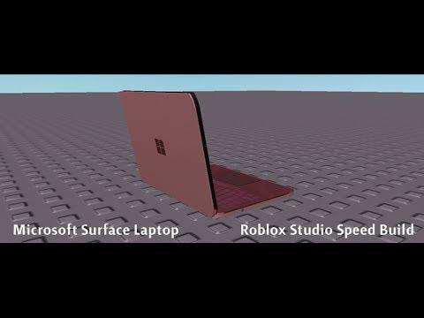 Microsoft Surface Laptop Roblox Studio Speed Build Billon