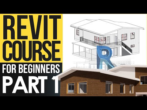 Revit Course for Beginners – Revit Tutorials to Learn BIM Fast   Part 1 - Setup