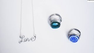 DIY/Jewelry Tutorial,Wire Wrapped Ring And Wire Name Letters