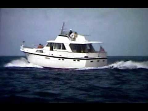 Hatteras 58video