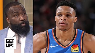 The Thunder are 'dysfunctional' and Russell Westbrook is struggling - Kendrick Perkins | Get Up!