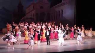 Поклоны после третьего акта - Сюита из балета «Лауренсия». Финальные поклоны.