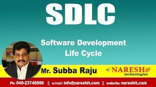 SDLC Tutorials   Software Development Life Cycle   Mr.Subba Raju