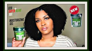 *NEW* ECO SUPER OLIVE 10X MOISTURIZING GEL | ECO STYLE OLIVE OIL GEL REMIX