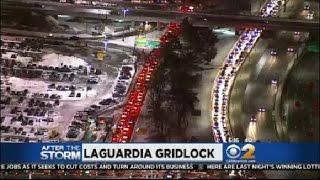 Traffic Flowing At LaGuardia