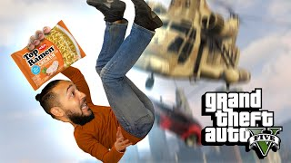 Will We Finally Rage Quit GTA 5? - Stunt Race Gameplay