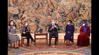 Audiencia a una representación de mujeres lideresas del Mediterráneo y de África del Programa de visitantes RAISA