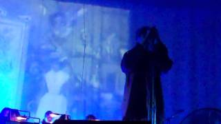 """echo and the bunnymen @london palladium """"thorn of crowns"""" 26/sep/2011"""