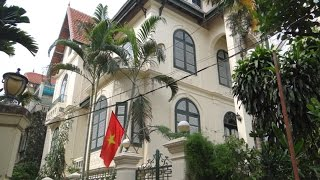 Tay Ho French Style Villa 5 Bedrooms - To Rent