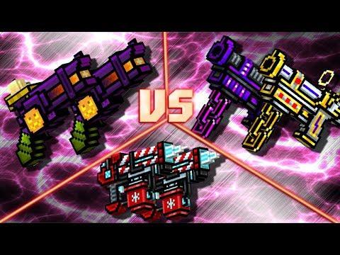Pixel Gun 3D - Lovebirds VS Ritual Revolvers VS Dual Cryo Pistols