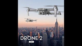 E68 DRONE + 4k wifi live demo & flight test