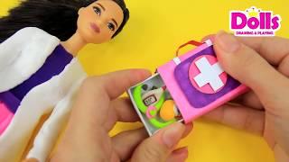 💉💊🚑MATCHBOX CRAFT IDEAS | HOW TO MAKE MATHCBOX DOCTOR BAG | MEDICAL KIT HANDMADE DIY