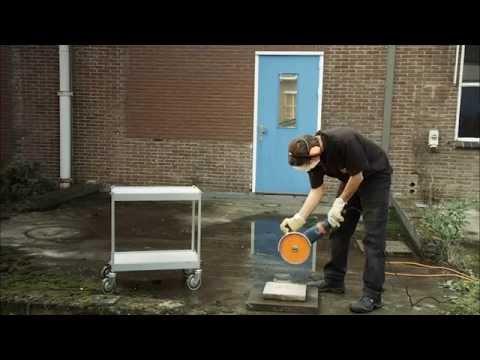 Come funziona una smerigliatrice angolare?