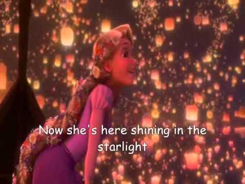 I see the light Tangled Lyrics